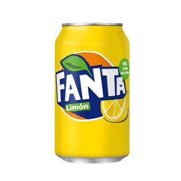 Comprar Fanta Limón de lata 33 cl